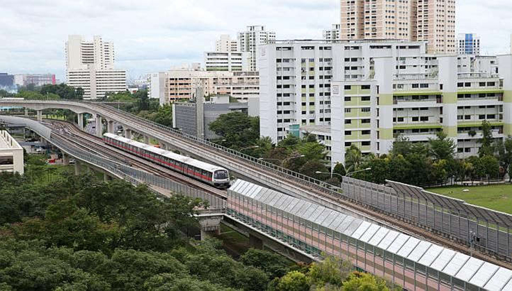noise barriers for LTA in Singapore