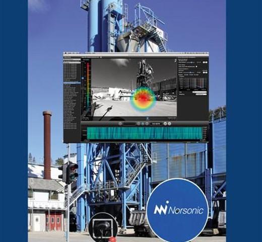 การใช้งานของ Norsonic: การใช้งานของ Nor848A Acoustic camera