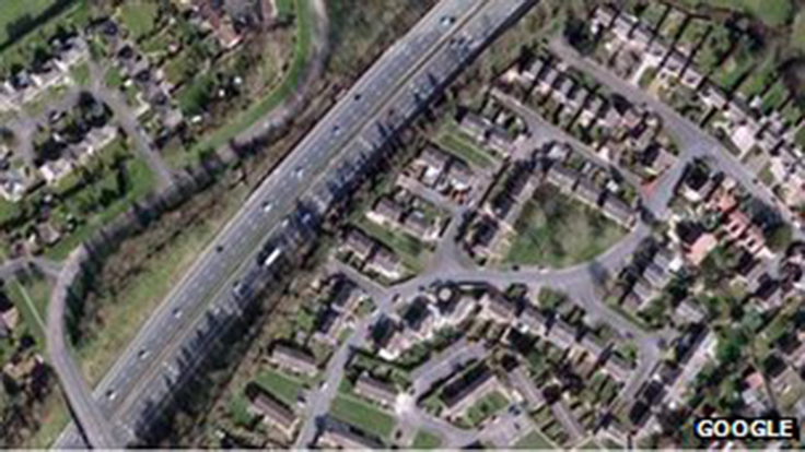 Gloucester estate residents complain about M5 noise