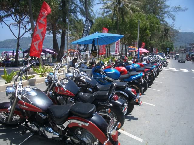 Less noise from big bikes in Thailand ?