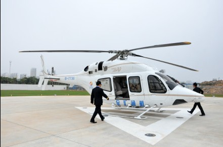 Helicopter tourism route changed after protests in Shanghai