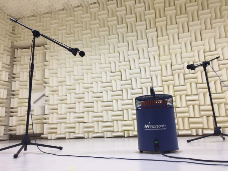 สอบเทียบห้องทดสอบเสียง Anechoic chamber